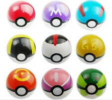 1pc Pokemon Pokeball Pop-up 7cm Plastic Ball Toy Action Figure Cute Lovely Gift