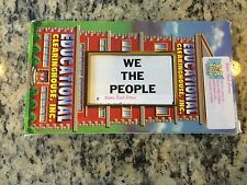 WE THE PEOPLE OOP VHS HISTORY EDUCATIONAL UNITED STATES CONSTITUTION LEARNING