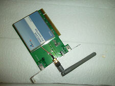 Airlink101 Wireless-G PCI Adapter 802.11b/g 64/128-Bit 54Mbps 2.4GHz AWLH3025