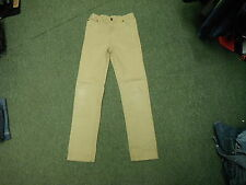 "Tom Joules Straight Jeans Waist 26"" Leg 29"" Faded Brown Girls 11/12 Yrs Jeans"