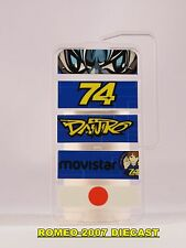 1:12 Pit board - pitboards Daijiro Kato Memorial Honda 74 to minichamps RARE NEW