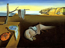 "Salvador Dali ""The Persistence of Memory"" reproduction 8.3X11.7 canvas print"