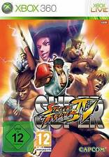 Xbox 360 super street fighter 4 IV GOLD * très bon état