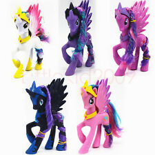 5pcs Set My Little Pony Princess Celestia Twilight Sparkle Pinkie Pie Luna Toy