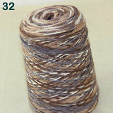 Sale 500g NEW soft Knitting Cone Yarn Chunky Hand-woven Colorful Wool Cashmere
