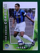 FOOTBALL CARDS REAL ACTION 2008-09 n.33 INTER CORDOBA , Figurina Panini NEW