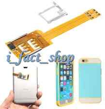Dual SIM Card Adapter Converter Flex Cable Ribbon for Apple iPhone 6 6 Plus 5S U