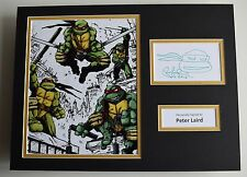 Peter Laird SIGNED autograph 16x12 photo display Ninja Turtles Film AFTAL & COA