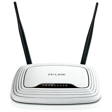 TP-LINK TL-WR841N Wireless N300 Home Router, 300Mpbs, IP QoS, WPS Button
