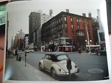 1967 Madison Avenue Volkswagon Beetle NYC New York City Modern Reprint Photo