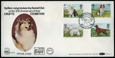 Old English Sheepdog OES CRUFTS DOG SHOW FIRST DAY COVER 1979 + Irish Setter