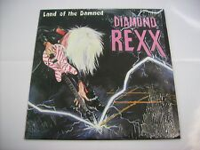 DIAMOND REXX - LAND OF THE DAMNED - LP VINYL LIKE NEW CONDITION 1986
