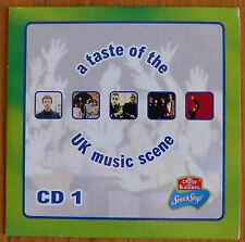 A Taste of the UK Music Scene CD 1 - (EZ757) 5 tracks - 1999 - 90s Artists