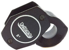 """BelOMO 8x Loupe Magnifier. 14 mm (.55"""") Jewelry Instrument. Brand Viewing Loupe"""
