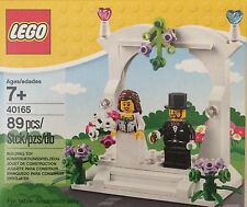NIB Lego Wedding Favor Set Bride and Groom 40165 89 pieces 7+