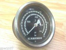 KARCHER HDS 650 Front Panel Pressure Gauge Up To 3600 psi 250 bar