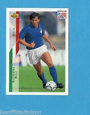 Figurina/CARDS-UPPER DECK 94 -WC USA 94- n.131- MELLI - ITALIA
