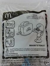 MRE * The Smurfs - Brainy's Toast from McDonald's Malaysia