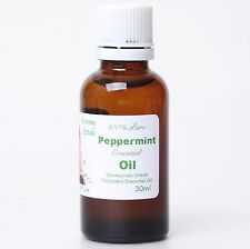 100% Pure 30ml Organic Undiluted Peppermint Essential Oil Suani Aroma Therapy