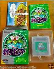 Pokemon Green Manual In BOX Japanese Japan JP import Game Boy GB Limited SALE