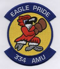 USAF Patch 334th AIRCRAFT MAINTENANCE UNIT