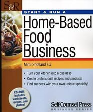 Start & Run a Home-Based Food Business (Start and Run A)-ExLibrary