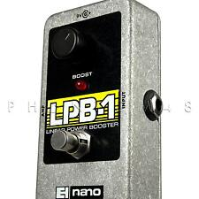 Electro-Harmonix LPB-1 Linear Power Booster Clean Boost Guitar Pedal LPB1 - NEW!