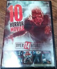 10 Horror Movie Collection (DVD) LN NIGHT OF THE LIVING DEAD ZOMBIE DEAREST