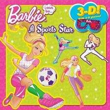Barbie - I Can Be A Sports Star 3d (2012) - Used - Trade Paper (Paperback)