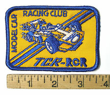 1990s Ideal TCR Racing Team Member SEW ON PATCH Rare Factory Give Away Promo A+