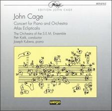 Cage: Concert For Piano and Orchestra / Atlas Eclipticalis, New Music