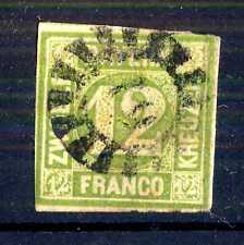 GERMAN STATES  -  BAYERN - 1862 - Grande cifra in cerchio. E5331