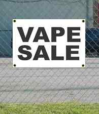 2x3 VAPE SALE Black & White Banner Sign NEW Discount Size & Price FREE SHIP