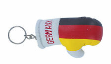Keychain Mini boxing gloves key chain ring flag key ring cute german germany