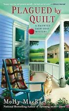 Plagued By Quilt: A Haunted Yarn Shop Mystery-ExLibrary