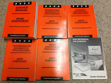 2000 JEEP CHEROKEE Service Repair Shop Manual FACTORY OEM W Diagnostics Books