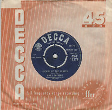Mark Wynter -Kickin Up The Leaves -Rare single / Excellent condition