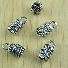 25pcs Tibetan silver bell shape charm findings h1506