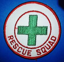 5 Lot Vintage1980's Search Fire Rescue Squad Iron On Jacket Hat Cosplay Patches