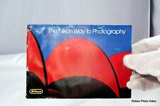 "Camera F3 ""The Nikon Way to Photography"" Manual Booklet Guide (EN) Accessory"