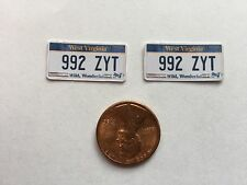 1/10 scale West Virginia  license plate decals for your r/c car or truck