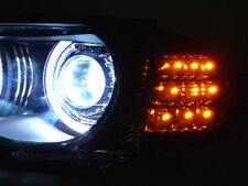 SMOKED LED INDICATORS FOR BMW E46 3 SERIES M3 & FACELIFT COUPE & CONVERTIBLE