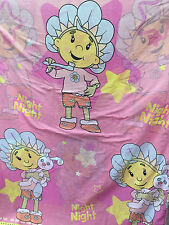 FIFI AND THE FLOWERTOTS PINK REVERSIBLE QUILT COVER & PILLOW CASE SINGLE BED SET