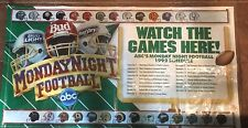 MONDAY NIGHT FOOTBALL DIRECT TV BANNER FOOTBALL BANNER MAN CAVE