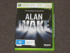 Alan Wake Microsoft Xbox 360 CHEAP & Complete FAST & FREE POST PAL