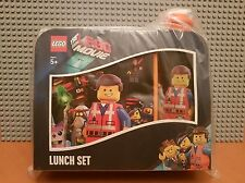 LEGO THE MOVIE / LUNCH SET / BOX & BOTTLE /COLLECTORS GIFT / NEW PLASTIC SEALED✔