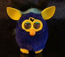 FURBY BLUE & YELLOW Electronic Interactive Pet Friend Tiger Hasbro Toy Kids Game
