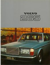 Volvo 265 Estate DL & GL 1976-77 Original UK Market Brochure No. RSP/PV 4105-77