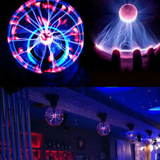 Magic Lightning Plasma Ball Light Desktop Sphere Lamp Disco Party Gift