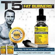 T5 FAT BURNERS SERUM -STRONGEST LEGAL SLIMMING / DIET / WEIGHT LOSS PILLS SERUM